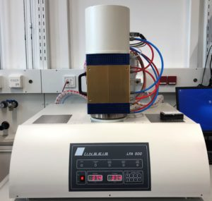 For Characterization of Thermal Diffusivity and Thermal Conductivity of Liquids and Solids